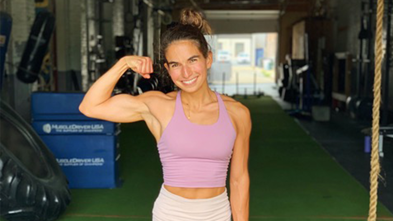 This is Rose she is a plant-based body builder and personal trainer.